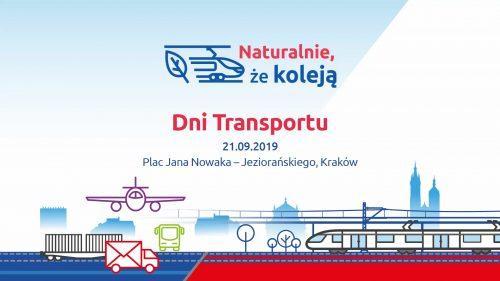 Zaproszenie do udziału w dniach Transportu 21 września 2019 opisujące atrakcje wydarzenia