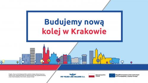 """Film plansza """"Budujemy kolej w Krakowie"""""""